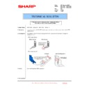 Sharp MX-4100N, MX-4101N, MX-5000N, MX-5001N (serv.man167) Technical Bulletin