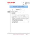 Sharp MX-4100N, MX-4101N, MX-5000N, MX-5001N (serv.man170) Technical Bulletin