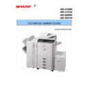 Sharp MX-4100N, MX-4101N, MX-5000N, MX-5001N (serv.man4) Handy Guide