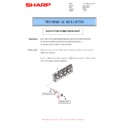 Sharp MX-4100N, MX-4101N, MX-5000N, MX-5001N (serv.man52) Technical Bulletin