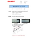 Sharp MX-4100N, MX-4101N, MX-5000N, MX-5001N (serv.man53) Technical Bulletin