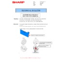 Sharp MX-4100N, MX-4101N, MX-5000N, MX-5001N (serv.man54) Technical Bulletin