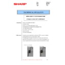 Sharp MX-4100N, MX-4101N, MX-5000N, MX-5001N (serv.man56) Technical Bulletin