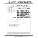 Sharp MX-4100N, MX-4101N, MX-5000N, MX-5001N (serv.man6) Service Manual
