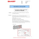 Sharp MX-4100N, MX-4101N, MX-5000N, MX-5001N (serv.man67) Technical Bulletin