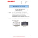 Sharp MX-4100N, MX-4101N, MX-5000N, MX-5001N (serv.man68) Technical Bulletin