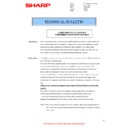 Sharp MX-4100N, MX-4101N, MX-5000N, MX-5001N (serv.man69) Technical Bulletin