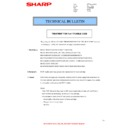 Sharp MX-4100N, MX-4101N, MX-5000N, MX-5001N (serv.man71) Technical Bulletin