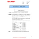 Sharp MX-4100N, MX-4101N, MX-5000N, MX-5001N (serv.man72) Technical Bulletin