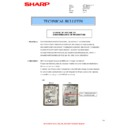 Sharp MX-4100N, MX-4101N, MX-5000N, MX-5001N (serv.man73) Technical Bulletin