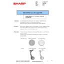 Sharp MX-4100N, MX-4101N, MX-5000N, MX-5001N (serv.man74) Technical Bulletin
