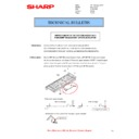 Sharp MX-4100N, MX-4101N, MX-5000N, MX-5001N (serv.man76) Technical Bulletin