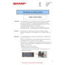 Sharp MX-4100N, MX-4101N, MX-5000N, MX-5001N (serv.man77) Technical Bulletin