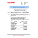 Sharp MX-4100N, MX-4101N, MX-5000N, MX-5001N (serv.man83) Technical Bulletin