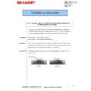 Sharp MX-4100N, MX-4101N, MX-5000N, MX-5001N (serv.man84) Technical Bulletin
