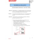 Sharp MX-4100N, MX-4101N, MX-5000N, MX-5001N (serv.man86) Technical Bulletin