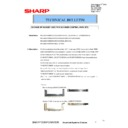 Sharp MX-4100N, MX-4101N, MX-5000N, MX-5001N (serv.man90) Technical Bulletin
