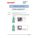 Sharp MX-4100N, MX-4101N, MX-5000N, MX-5001N (serv.man93) Technical Bulletin