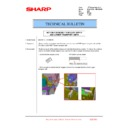 Sharp MX-4100N, MX-4101N, MX-5000N, MX-5001N (serv.man96) Technical Bulletin