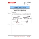 Sharp MX-4100N, MX-4101N, MX-5000N, MX-5001N (serv.man98) Technical Bulletin