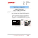 Sharp MX-4100N, MX-4101N, MX-5000N, MX-5001N (serv.man99) Technical Bulletin