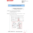 Sharp MX-5500N, MX-6200N, MX-7000N (serv.man105) Technical Bulletin