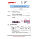 Sharp MX-5500N, MX-6200N, MX-7000N (serv.man109) Technical Bulletin