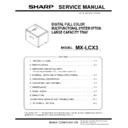Sharp MX-5500N, MX-6200N, MX-7000N (serv.man11) Peripheral