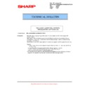Sharp MX-5500N, MX-6200N, MX-7000N (serv.man112) Technical Bulletin