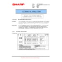 Sharp MX-5500N, MX-6200N, MX-7000N (serv.man113) Technical Bulletin