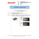 Sharp MX-5500N, MX-6200N, MX-7000N (serv.man116) Technical Bulletin
