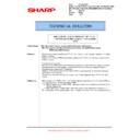 Sharp MX-5500N, MX-6200N, MX-7000N (serv.man118) Technical Bulletin