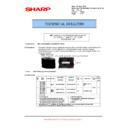 Sharp MX-5500N, MX-6200N, MX-7000N (serv.man122) Technical Bulletin