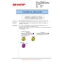 Sharp MX-5500N, MX-6200N, MX-7000N (serv.man126) Technical Bulletin