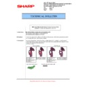 Sharp MX-5500N, MX-6200N, MX-7000N (serv.man131) Technical Bulletin