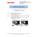 Sharp MX-5500N, MX-6200N, MX-7000N (serv.man133) Technical Bulletin