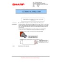 Sharp MX-5500N, MX-6200N, MX-7000N (serv.man135) Technical Bulletin