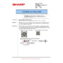 Sharp MX-5500N, MX-6200N, MX-7000N (serv.man136) Technical Bulletin