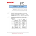 Sharp MX-5500N, MX-6200N, MX-7000N (serv.man141) Technical Bulletin