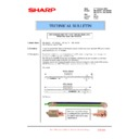 Sharp MX-5500N, MX-6200N, MX-7000N (serv.man147) Technical Bulletin