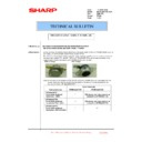 Sharp MX-5500N, MX-6200N, MX-7000N (serv.man150) Technical Bulletin