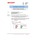 Sharp MX-5500N, MX-6200N, MX-7000N (serv.man154) Technical Bulletin