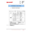 Sharp MX-5500N, MX-6200N, MX-7000N (serv.man155) Technical Bulletin