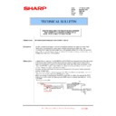 Sharp MX-5500N, MX-6200N, MX-7000N (serv.man156) Technical Bulletin