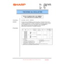 Sharp MX-5500N, MX-6200N, MX-7000N (serv.man171) Technical Bulletin