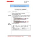 Sharp MX-5500N, MX-6200N, MX-7000N (serv.man187) Technical Bulletin