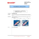 Sharp MX-5500N, MX-6200N, MX-7000N (serv.man188) Technical Bulletin