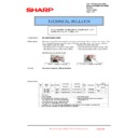 Sharp MX-5500N, MX-6200N, MX-7000N (serv.man189) Technical Bulletin