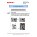 Sharp MX-5500N, MX-6200N, MX-7000N (serv.man193) Technical Bulletin