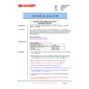 Sharp MX-5500N, MX-6200N, MX-7000N (serv.man195) Technical Bulletin